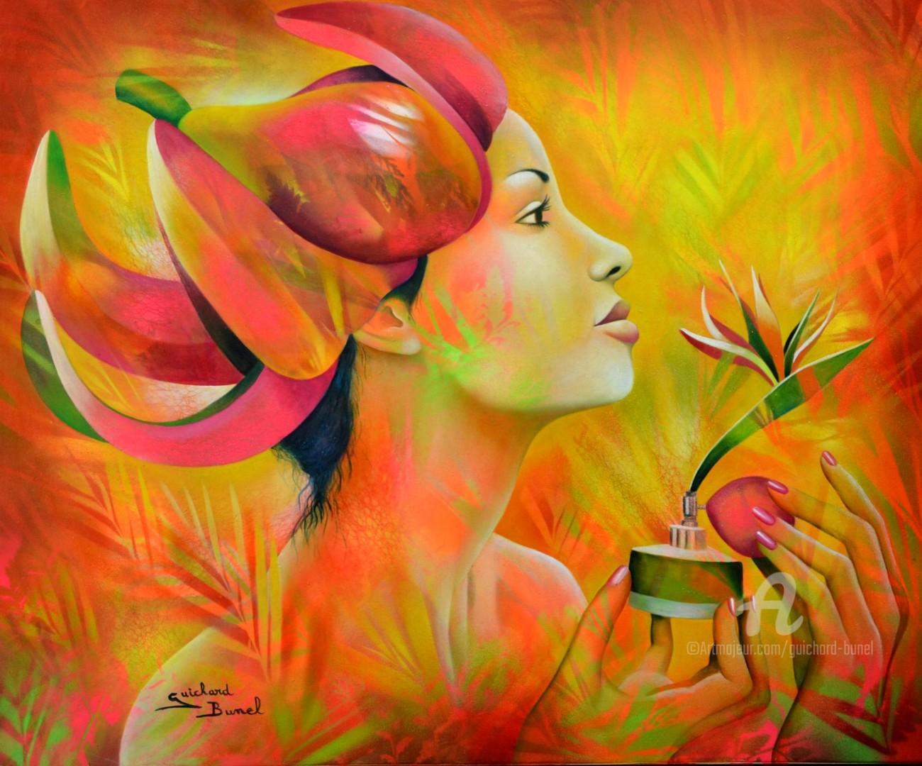 Jeannette Guichard-Bunel - oiseau de paradis