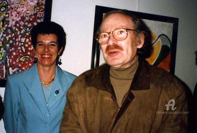 Jeannette Guichard-Bunel - avec Popeck (humoriste)