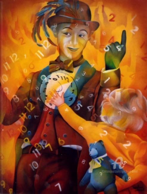 Jeannette Guichard-Bunel - le gardien du temps et l'enfant qui voulair grandir plus vite
