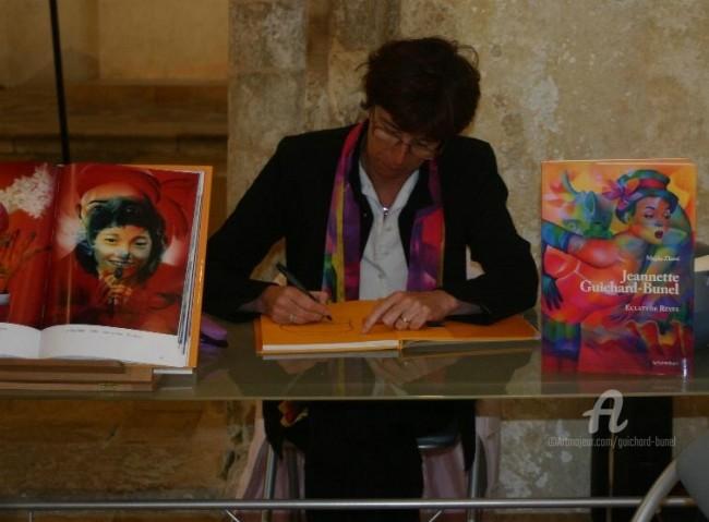 Jeannette Guichard-Bunel - dédicace