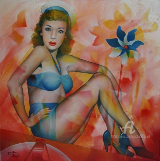 Jeannette Guichard-Bunel - ça dépend du temps , de la force du vent...