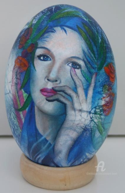 Jeannette Guichard-Bunel - oeuf d'autruche