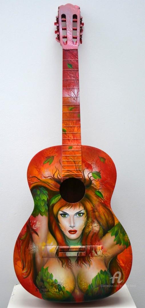 """Jeannette Guichard-Bunel - guitare """"Poison Ivy"""""""