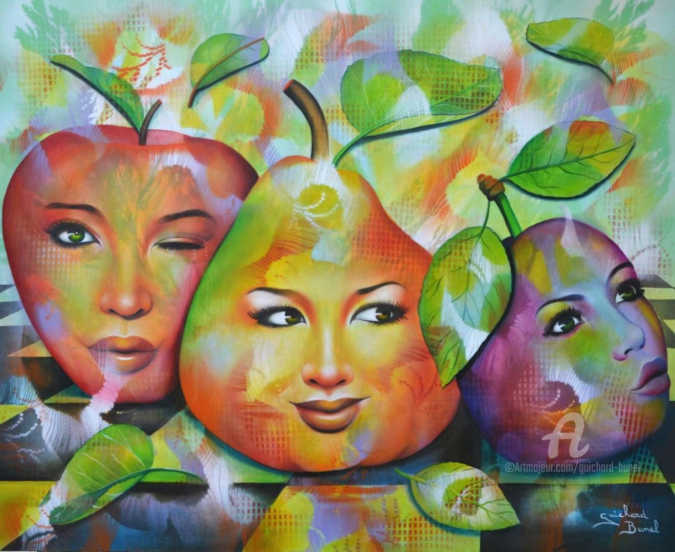 Jeannette Guichard-Bunel - salade de fruits