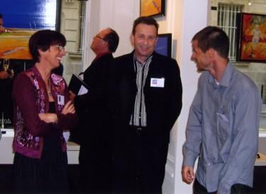 Avec EURGAL et MOGA (peintres)