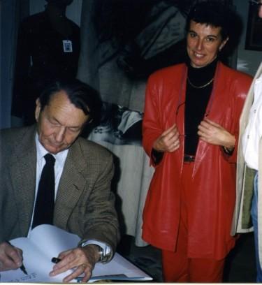 avec Michel Tauriac (écrivain)