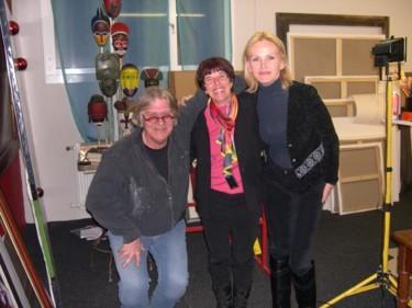 avec le peintre  Ligismond et sa femme Verène