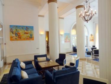 exposition centenaire de l'hôtel Cartlton