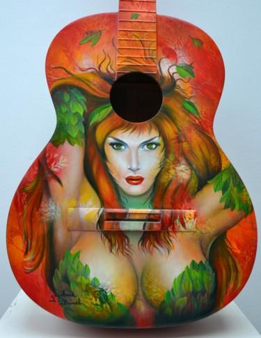 """détail guitare """"¨Poison Ivy"""""""