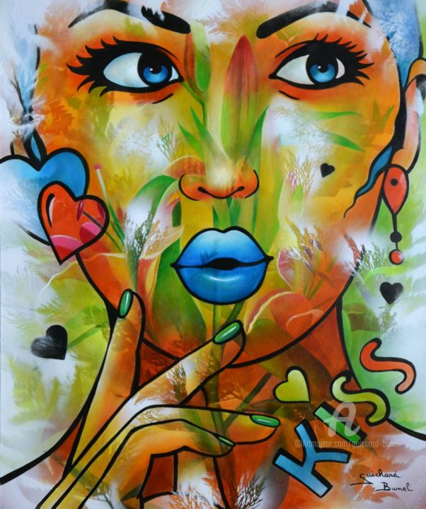 Jeannette Guichard-Bunel - kiss