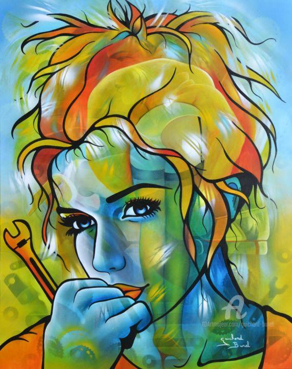 Jeannette Guichard-Bunel - le vent fripon