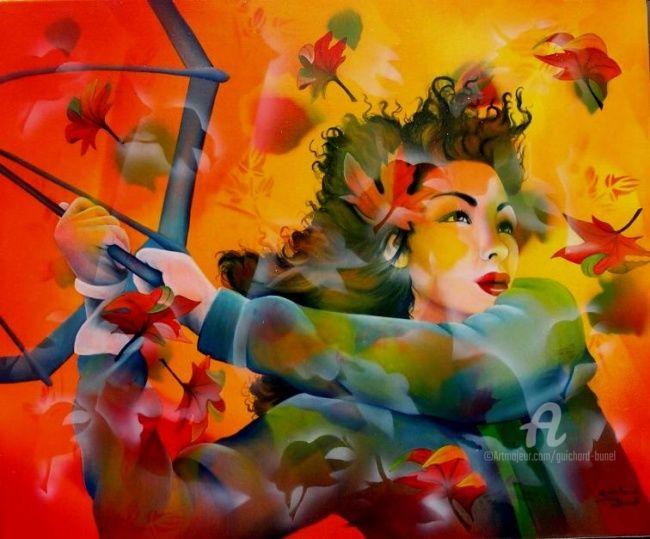 Jeannette Guichard-Bunel - tourbillon d'automne