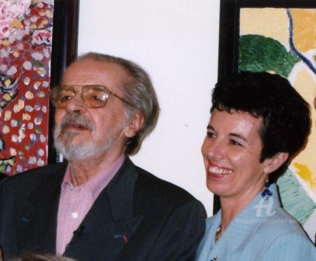 Jeannette Guichard-Bunel - avec Serge REGGIANI