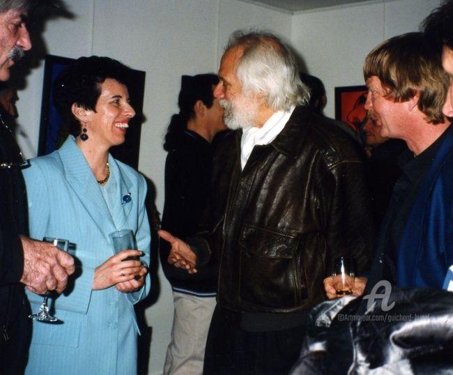 Jeannette Guichard-Bunel - avec Georges Moustaki