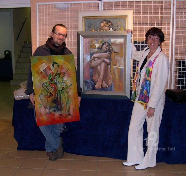 Jeannette Guichard-Bunel - avec Philippe..JANIN