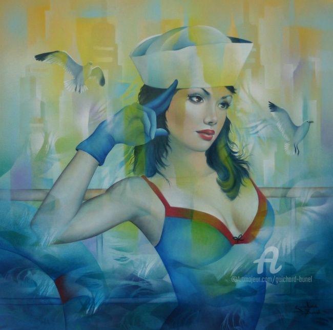 Jeannette Guichard-Bunel - in the navy