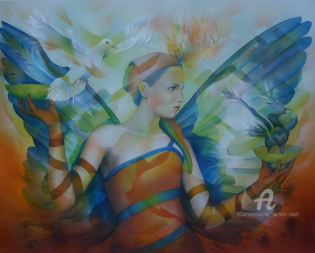 Jeannette Guichard-Bunel - la pesée des anges