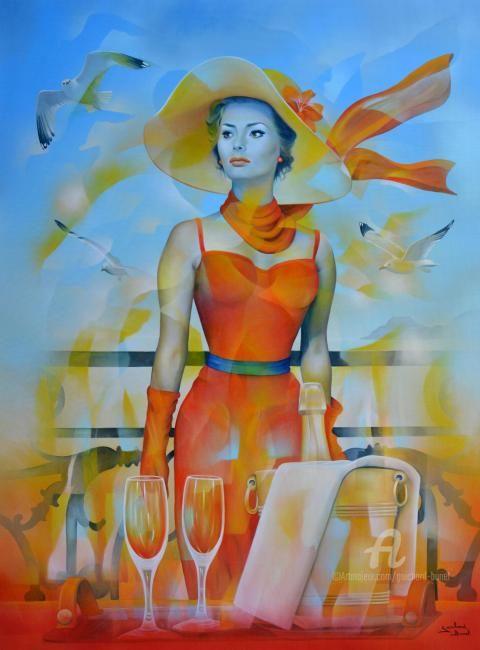 Jeannette Guichard-Bunel - hommage à Sophia Loren