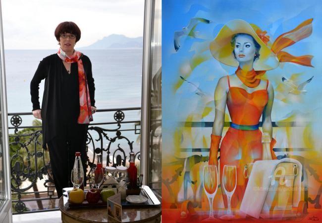 Jeannette Guichard-Bunel - au balcon du Carlton